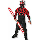 Child Star Wars Darth Maul Costume (Deluxe) Large