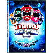Turbo - A Power Rangers Movie DVD