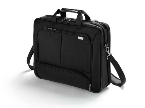 Dicota TopTraveler Extend Case (Black) for 15 inch to 17.3 inch Notebooks