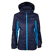 Nebo Extreme Womens Waterproof Breathable Hooded Jacket Coat - Blue