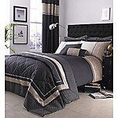 Catherine Lansfield Home Signature Luxury Geo Bedspread Natural 240 x 260cm