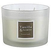 Tesco Vanilla and Jasmine 3 wick