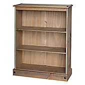 Home Essence New Corona Low Wide Bookcase