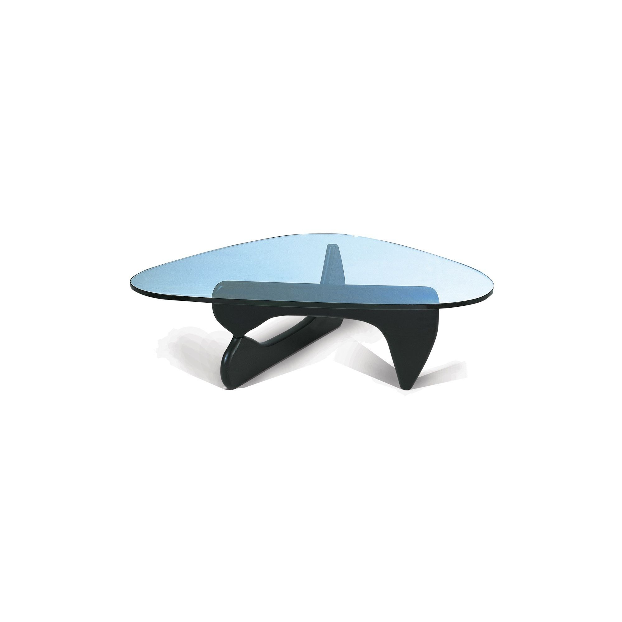 CC Furnishing Tempered Glass Coffee Table - Black at Tesco Direct