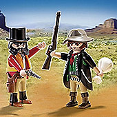 Playmobil Western Sheriff and Outlaw Duo Pack