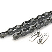 "Clarks MTB/Road 5-7 Speed Chain 1/2""x3/32"" x116 Quick Release Links Fits Various & Hybrid Derailleur Systems"