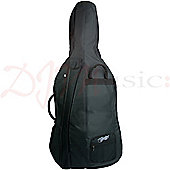Theodore Padded Cello Gig Bag - 1/2 Size Durable Soft Case