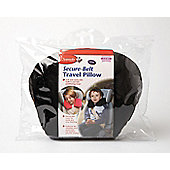 Clippasafe Secure Belt Travel Pillow Black 3-8 Years