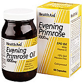 Evening Primrose Oil 1000mg + Vitamin E
