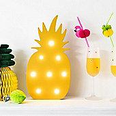 Tropical Pineapple LED Light Up Motif