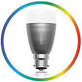 Yeelight (6W) Bluetooth App Controlled Multi-Coloured Smart LED light - Bayonet fitting (B22)