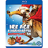 Ice Age Mammoth Christmas Blu-Ray 3D