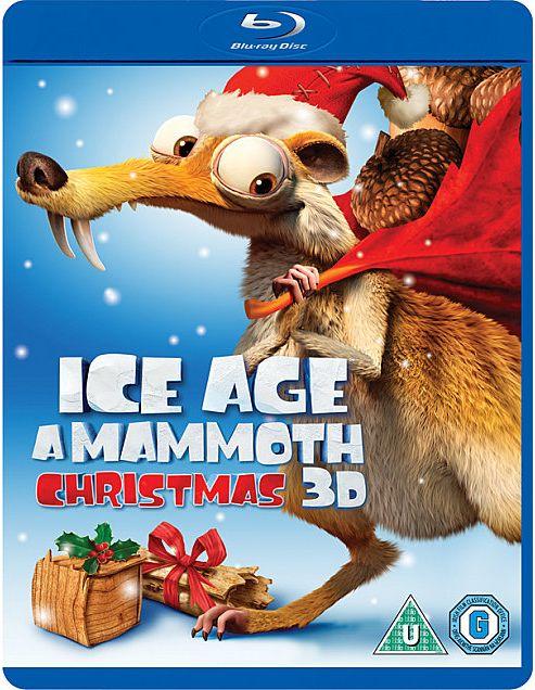 Ice Age Mammoth Christmas Blu-Ray 3D