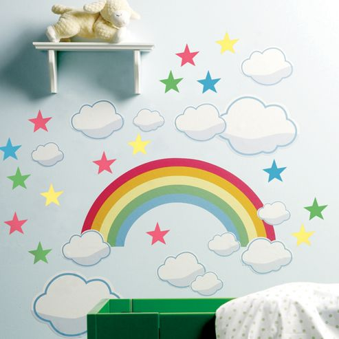 Rainbow Room Children's Wall Stickers