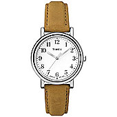 Timex Ladies Leather Watch T2P466