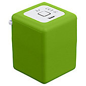 Kitsound Shot Portable Rechargeable Bluetooth Speaker Green