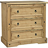 Home Essence Corona 3 Drawer Chest