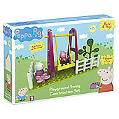 PEPPA PLAYGROUND SWING CONSTRUCTION SET
