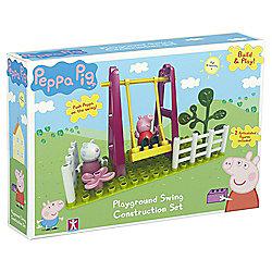 Peppa Playground Swing Construction Set