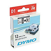 DYMO D1 tape 19MM X 7M BLACK/RED