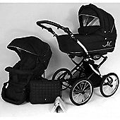 Classic ML Baby Pram Pushchair - BLACK