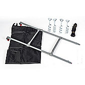 6ft x 9ft Rectangular Tramoline Accessory Kit (Cover, ladder, Tie down kit)