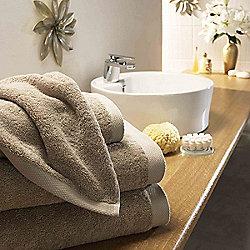 Boutique Turkish Cotton Towel Beige Face Cloth