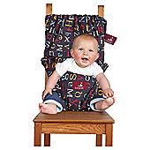 Totseat Travel Highchair Chair Harness Alphabet
