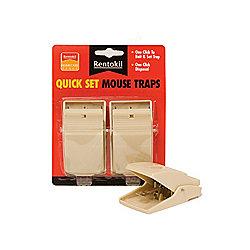 Renotkil Fq01 Quick Set Mouse Traps X2