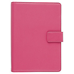 "Tesco Pink Premium Leather Universal 7"" Tablet display Case"