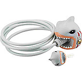 Crazy Stuff Cable Lock: White Shark.