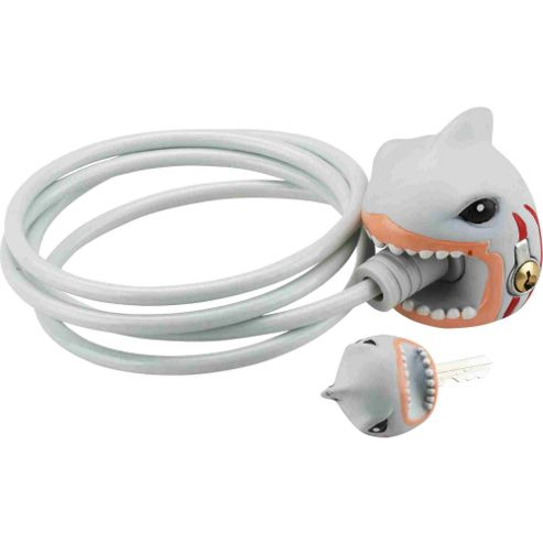 Crazy Stuff Cable Lock, White Shark