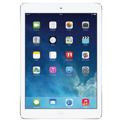 Apple iPad Air, 128GB, WiFi & 4G LTE (Cellular) - Silver