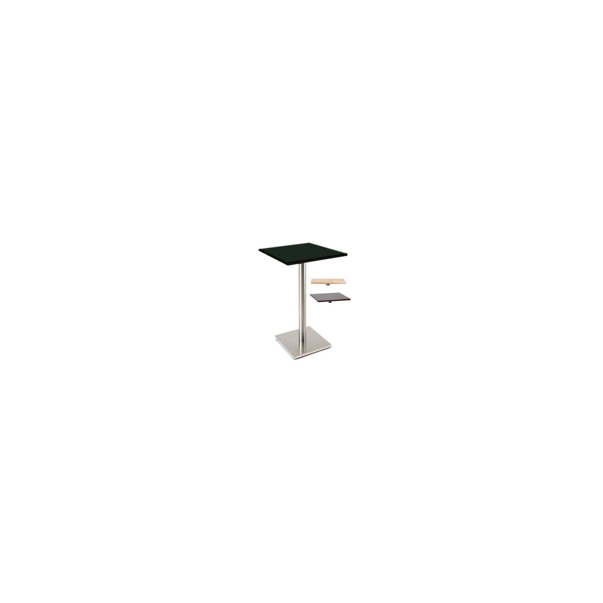 Pro Global Sicily Square Bar Table - Black at Tesco Direct