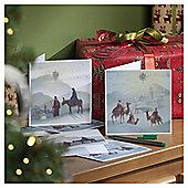 Religious Scene Christmas Cards, 10 pack
