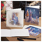 Religious Scene Christmas Cards, 10 pack