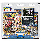 Pokemon XY9 Break Point Triple Booster Pack - Umbreon