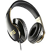 Veho NPNG Stereo Headphones - Black/Gold