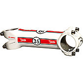 Deda Trentacinque Stem in Gloss White 35mm - 120mm