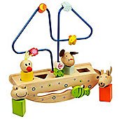 Bigjigs Toys BB045 Rocking Animal Boat