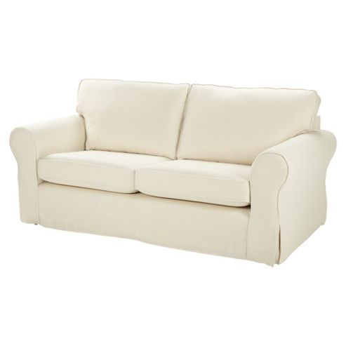 buy kenton large sofa cream from our fabric sofas range tesco. Black Bedroom Furniture Sets. Home Design Ideas