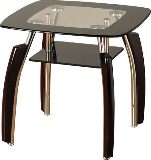 Home Essence Lexington Lamp Table - Black Border