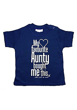 Dirty Fingers My Favourite Aunty bought me this She's Cool! T-shirt - Navy