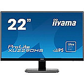 Iiyama Prolite XU2290HS-B1 22 IPS Full HD Monitor 5ms Speakers HDMI DVI VGA