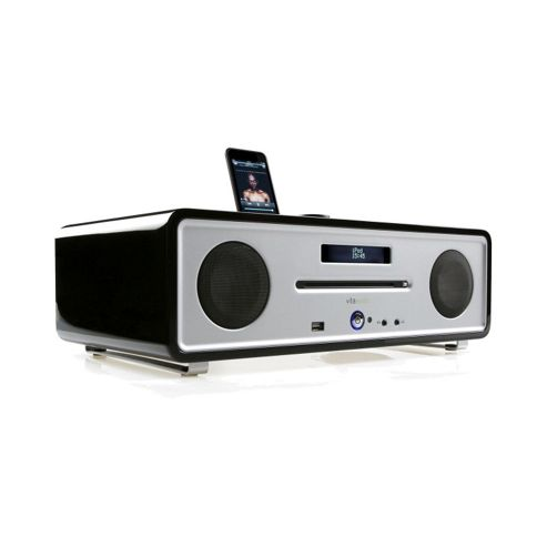 Ruark Integrated Music System with CD DAB/FM Tuner USB Play & iPod Dock Black