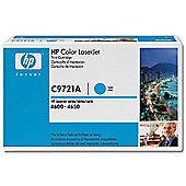 HP 641A LaserJet Toner Cartridge - Cyan