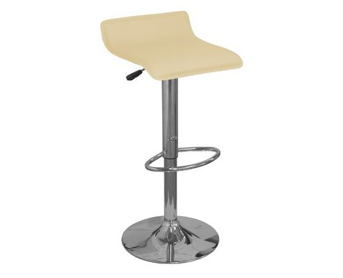 Zues Coffee Faux Leather Bar Stool