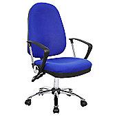 Oslo Blue Operator Chair