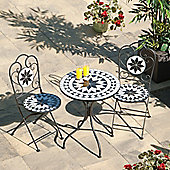 SunTime Granada Mosaic Cast Iron Bistro Set