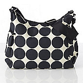 OiOi Ebony Desert Dot Hobo Changing Bag